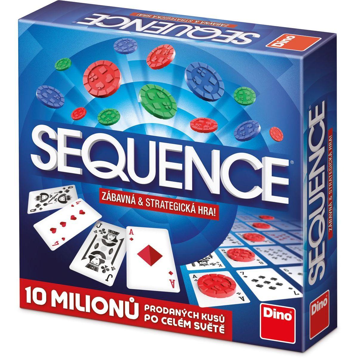 Dino Sequence rodinná hra