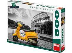 Dino Skútr u Kolosea 500 dílků puzzle