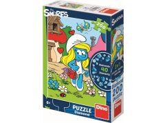 Dino Šmoulové Puzzle Diamond Šmoulinka 200 dílků