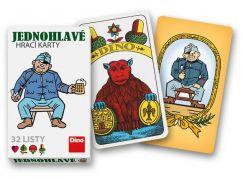 Dino Švejk jednohlavé mariášové karty