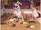 Dino Tajný život mazlíčků Dřevěné kostky 12ks 2