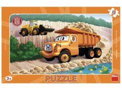 Dino Tatra deskové puzzle 15 dílků