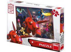 Dino Velká Šestka Puzzle Big Hero 6 100XL dílků