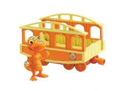 Dinosaur Train T-Rex Bráška s vagónkem