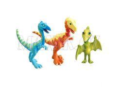 Dinosaur Train T-Rex Derek, Ollie a pan Pteranodon