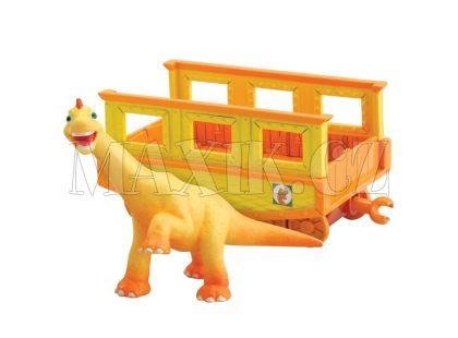 Dinosaur Train T-Rex Ned s vagónkem