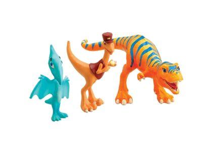Dinosaur Train T-Rex Pan průvodčí, Delores a Zlatka