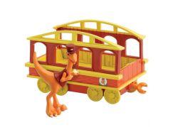 Dinosaur Train T-Rex Pan Průvodčí s vagónkem