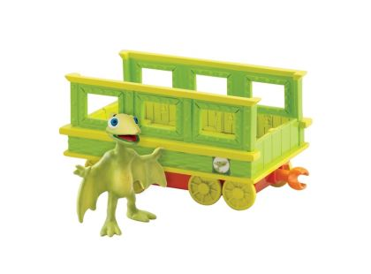 Dinosaur Train T-Rex Prcek s vagónkem