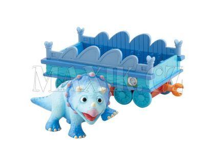 Dinosaur Train T-Rex Tank s vagónkem
