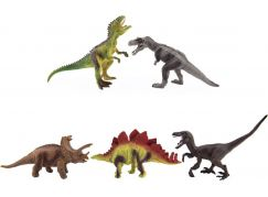 Dinosaurus plastový 15-18cm 5ks