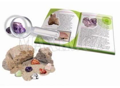Discovery Hledání minerálů