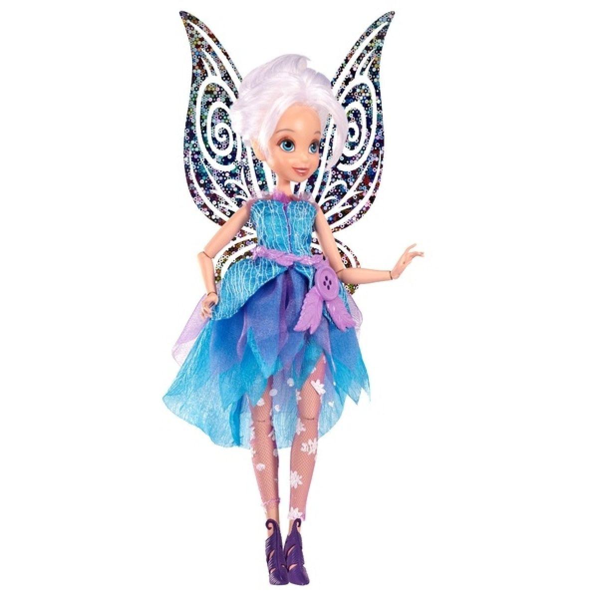 Disney Fairy 22cm Deluxe modní panenka - Periwinkle