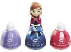 Disney Frozen Little Kingdom Make up pro princezny - Anna modrá a lesky na rty