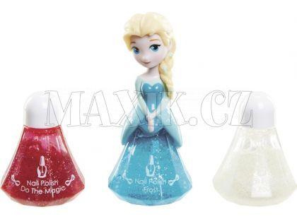 Disney Frozen Little Kingdom Make up pro princezny - Elsa modrá a laky na nehty