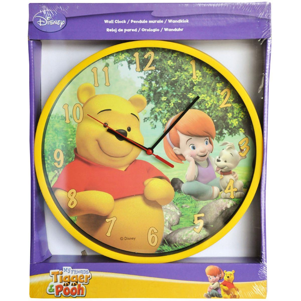 Disney Nástěnné hodiny Medvídek Pú