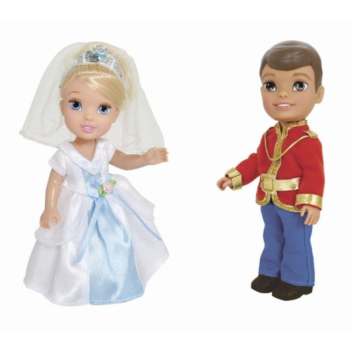 Disney Princezna a Princ 15cm - Popelka, okouzlující princ