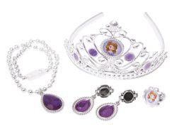 Disney Princezna Sofie První Set s korunkou a šperky