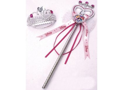 Disney princezny Čelenka a hůlka pro princeznu