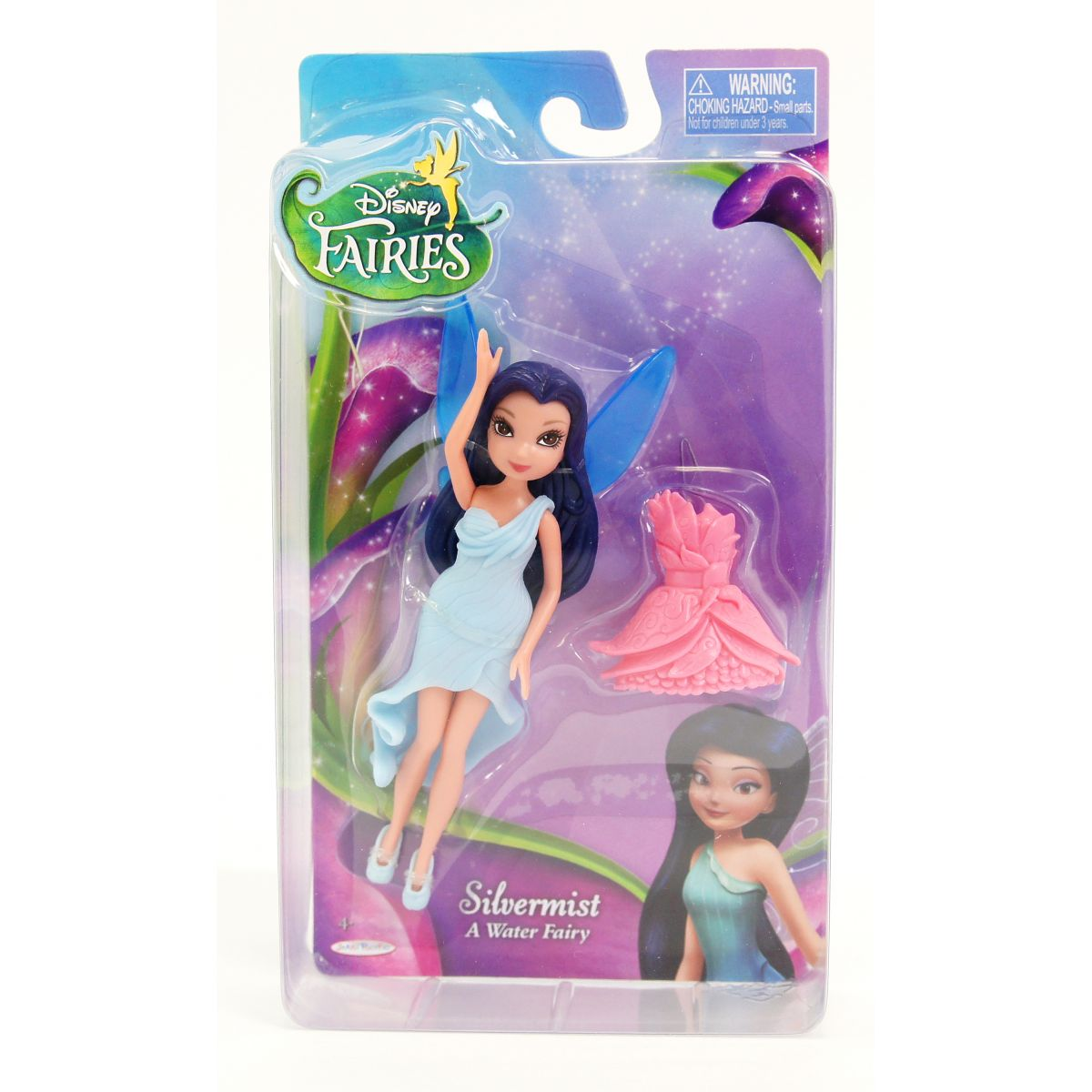 Disney Víly 11cm Základní panenka s modními doplňky - Mlženka