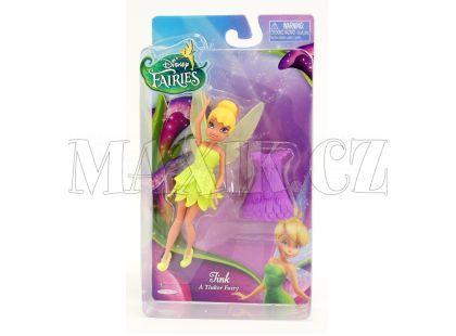 Disney Víly 11cm Základní panenka s modními doplňky - Zvonilka