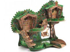 Djeco 3D dům ve větvích stromů