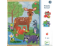 Djeco Dřevěné puzzle Lesní zvířátka 2
