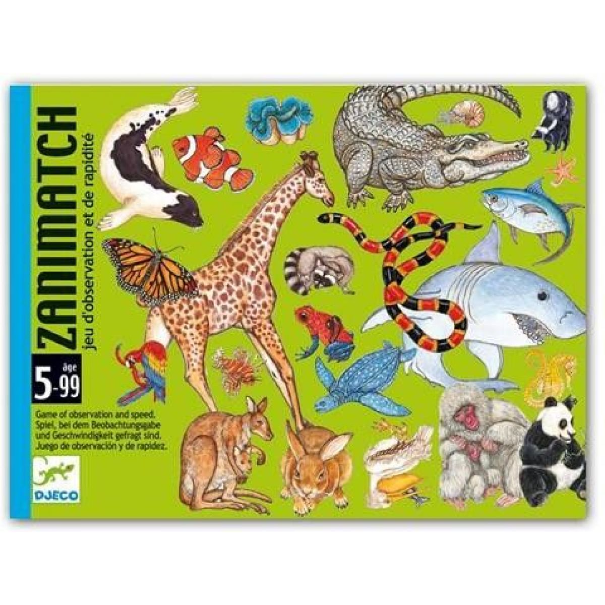 Djeco Karetní hra Zanimatch