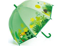 Djeco Krásný designový deštník Tropická Jungle