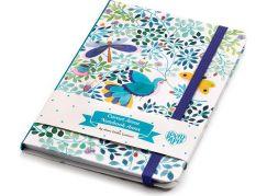 Djeco Krásný designový zápisník Anna s gumičkou