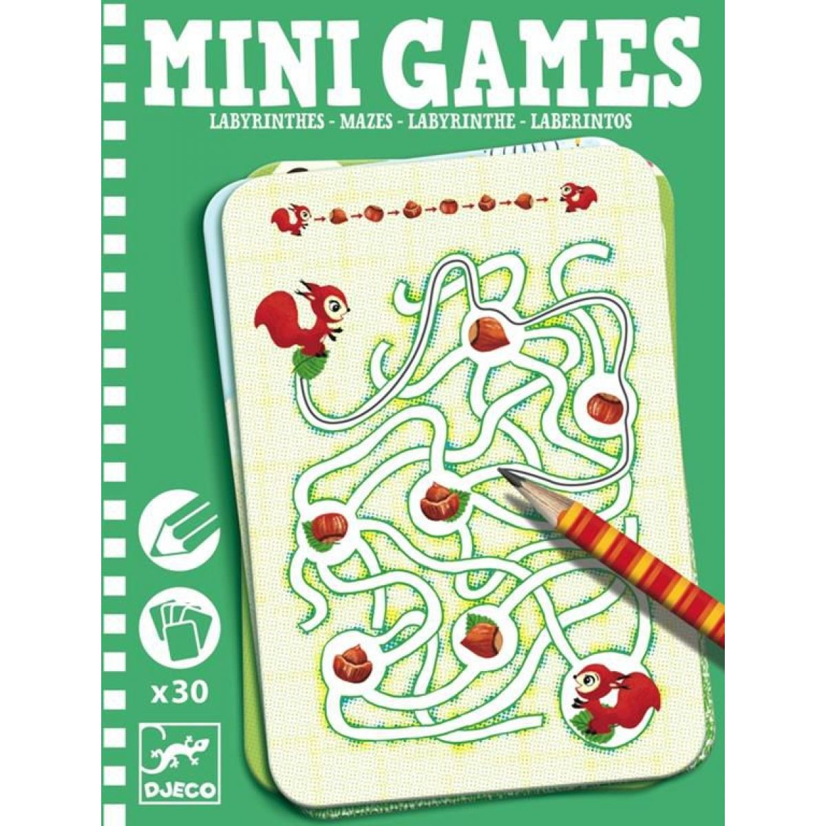DJECO Mini games: Bludiště s Adrianou