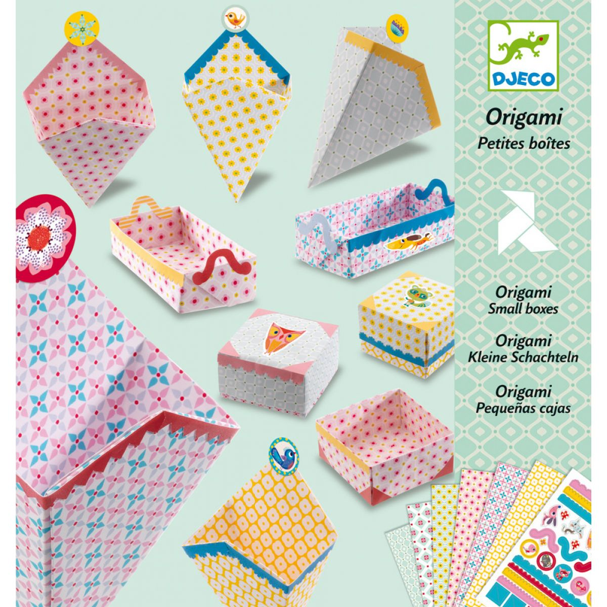 Djeco Origami skládačka Krabičky