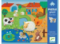 Djeco Puzzle hmatové Farma