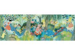 Djeco Puzzlový obraz Oslava na řece 350 dílků