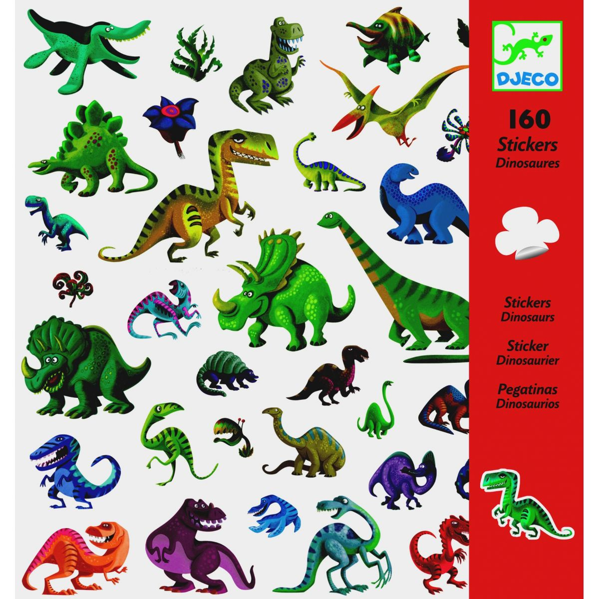 Djeco Samolepky Dinosauři