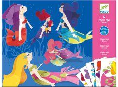 Djeco skládačka Mořské panny