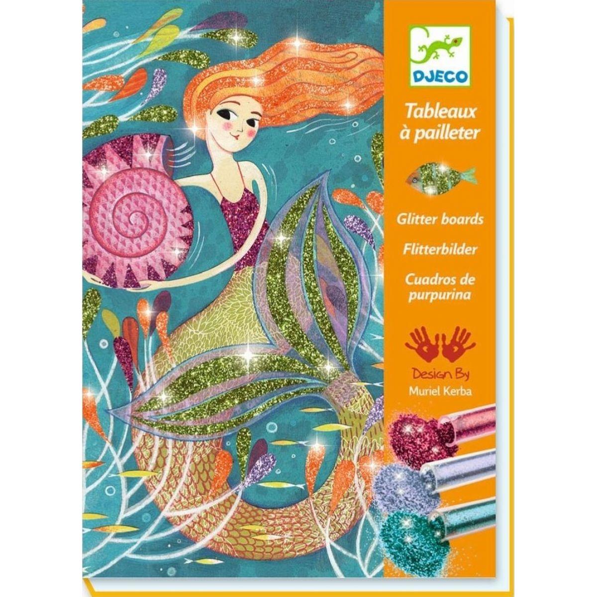 Djeco Třpytivé  Mořské panny