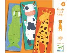 Djeco Veselá zvířátka puzzle