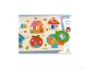 Djeco Vkládací puzzle s okénky domov 2