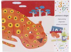 Djeco Výtvarná sada pro nejmenší malování prstíky