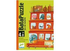 Djeco Zábavná karetní hra BataPuzzle