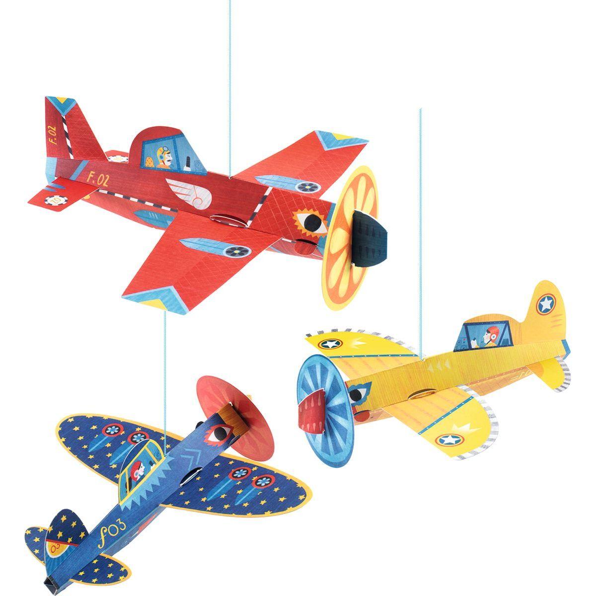 Djeco Závěs Letadla