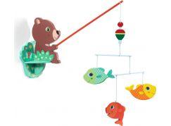 Djeco Závěs medvídek rybářem
