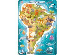 DoDo Puzzle Zvířata Jižní Amerika 53 dílků