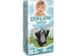 Dollano Baby Premium XL 50 Ks, Junior