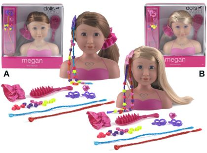 Dolls World Česací hlava