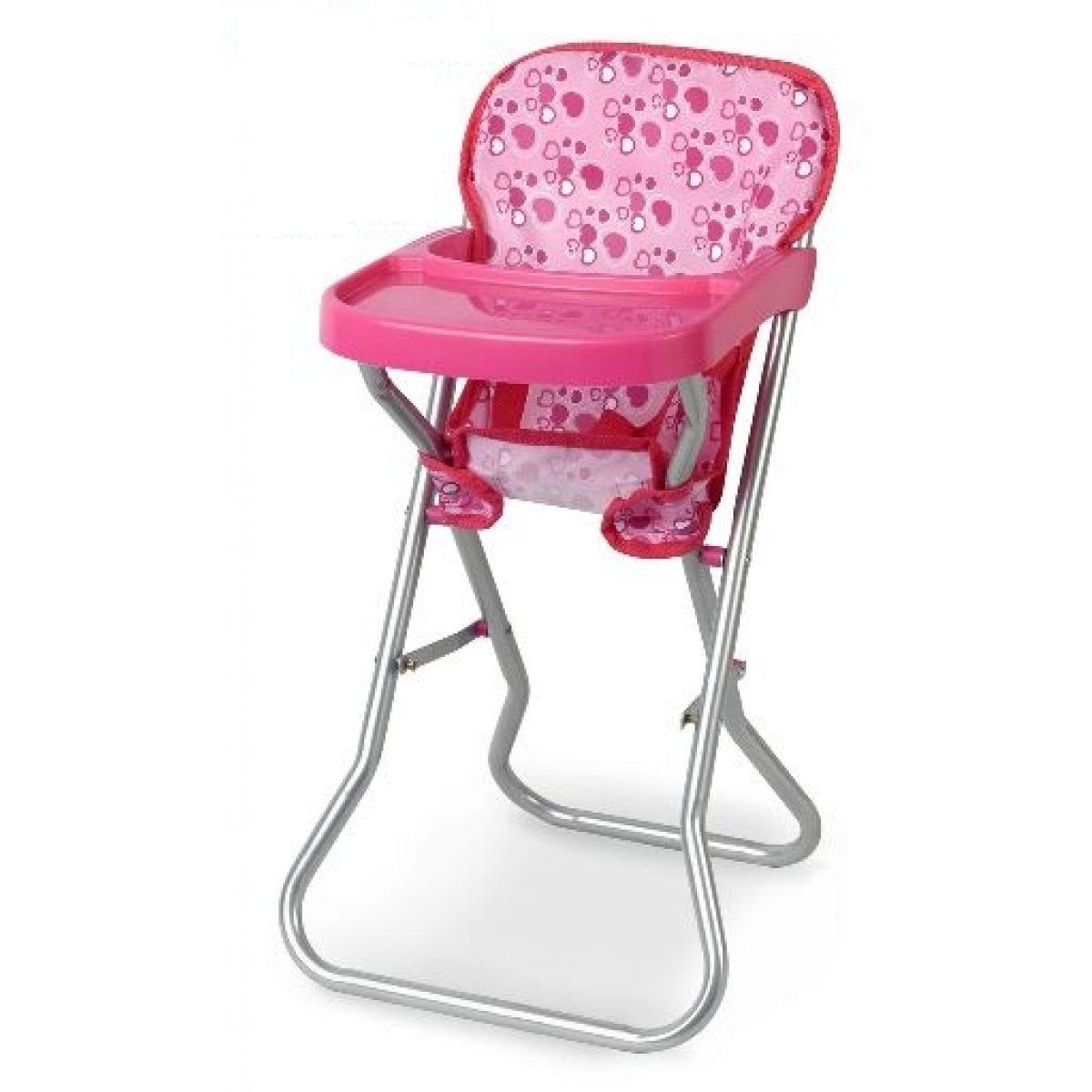 Dolls World Jídelní židlička pro panenku deluxe