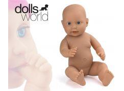Dolls World Novorozeně holčička 41 cm