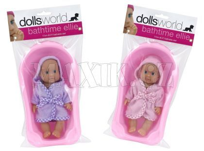 Dolls World Panenka Ellie s vaničkou