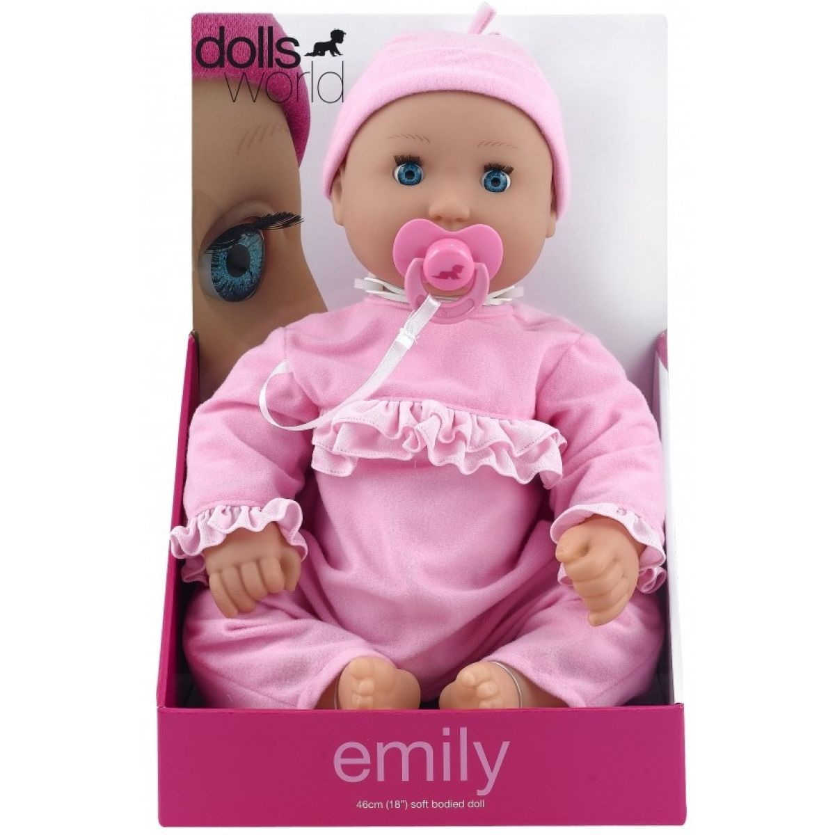 Dolls World Panenka Emily 46cm